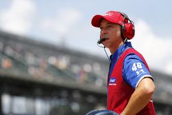 Chad Knaus, jefe de equipo de Jimmie Johnson, Hendrick Motorsports Chevrolet