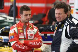 #50 AF Corse, Ferrari 488 GT3: Alessandro Pier Guidi con Peter Mann