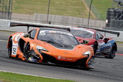 #59 Garage 59 Racing, McLaren 650S: Michael Benham, Duncan Tappy