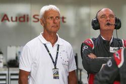 Matthias Müller, Presidente del Consejo de Volkswagen AG, Dr. Wolfgang Ullrich, jefe de Audi Sport