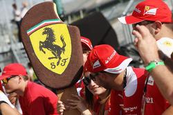 Helado de un fan de Ferrari