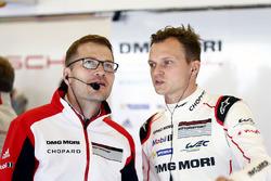 Andreas Seidl, Team Principal de Porsche Team, Marc Lieb, Porsche Team