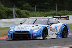 #24 Forum Engineering NISSAN GT-R: Daiki Sasaki, Masataka Yanagida