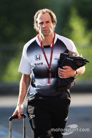 Ciaron Pilbeam, McLaren Chief Race Engineer