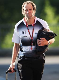 Ciaron Pilbeam, ingeniero jefe de carrera de McLaren