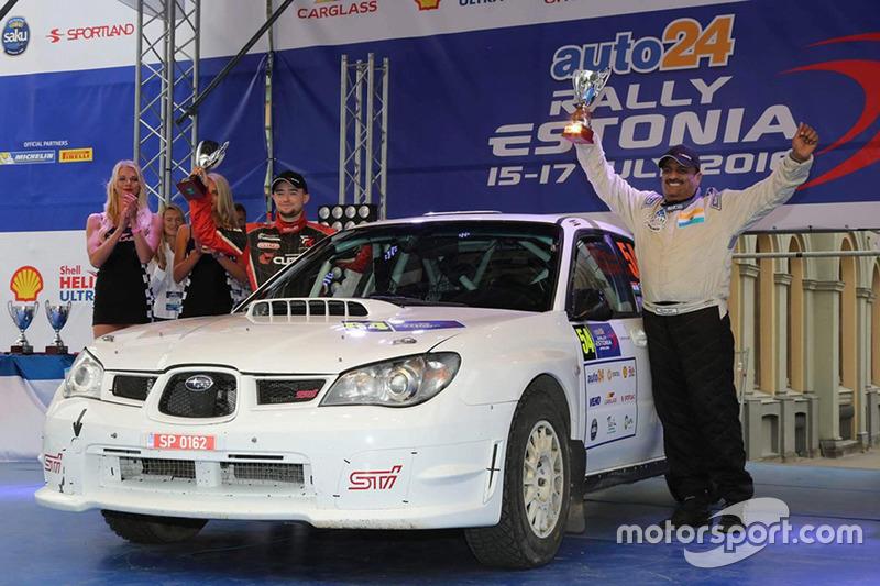Sanjay Takale, Mike Young, Subaru Impreza STI