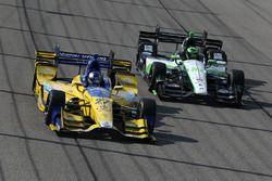 Marco Andretti, Andretti Autosport, Honda; Conor Daly, Dale Coyne Racing, Honda