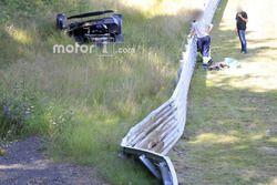 Koenigsegg One:1 Crash