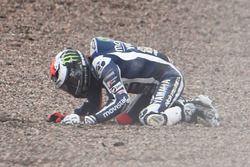 Jorge Lorenzo, Yamaha Factory Racing crash