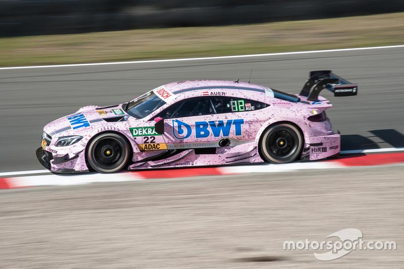 Así fue el Mercedes de Lucas Auer con Mücke Motorsport en el DTM 2016, por el mismo patrocinador...