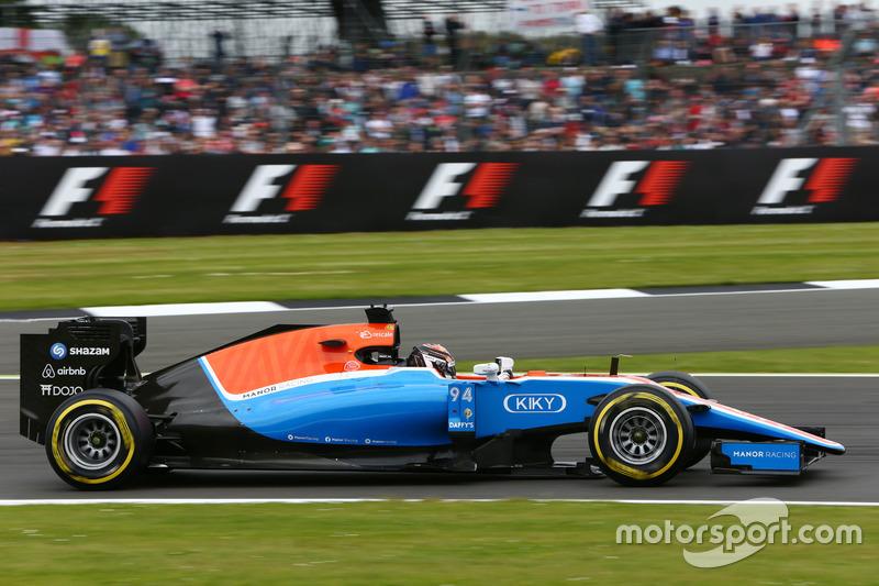 20. Pascal Wehrlein, Manor Racing MRT05