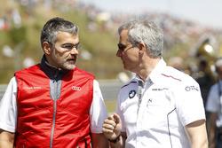 Dieter Gass, Head of DTM Audi Sport and Jens Marquardt, BMW Motorsport Director