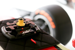ART Grand Prix steering wheel