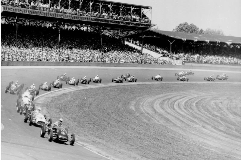 1952: Action beim Start
