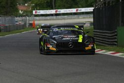#85 HTP Motorsport, Mercedes-AMG GT3: Clemens Schmid, Indy Dontje, Luciano Bacheta