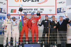 Podium: winner Shaun Balfe, Philip Keen, second place Gustavo Yacamán, Fernando Monje, third place Thomas Biagi, Fabrizio Crestani