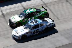 Brennan Poole, Chip Ganassi Racing Chevrolet, David Starr, TriStar Motorsports Toyota