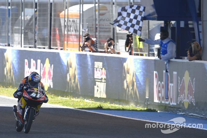 Brad Binder 15 victorias con KTM
