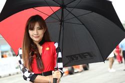 Çin F4 Grid kızı