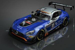 #89 AKKA ASP Mercedes AMG GT3: Nico Bastian, Thomas Neubauer