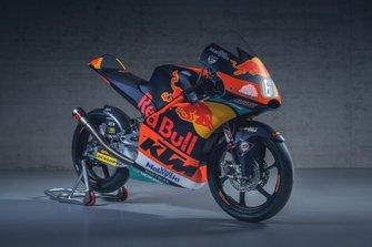 La moto de Can Öncü, Red Bull KTM Ajo
