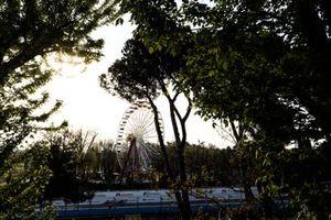 Des arbres et la grande roue