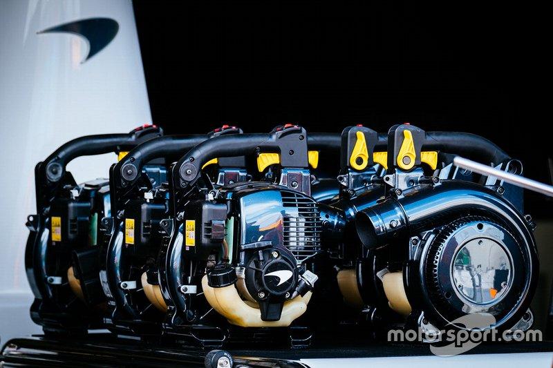 Raffreddatori McLaren