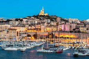 Vista general de Marsella