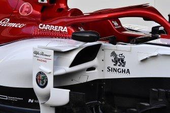 Alfa Romeo Racing C38 sidepod detail