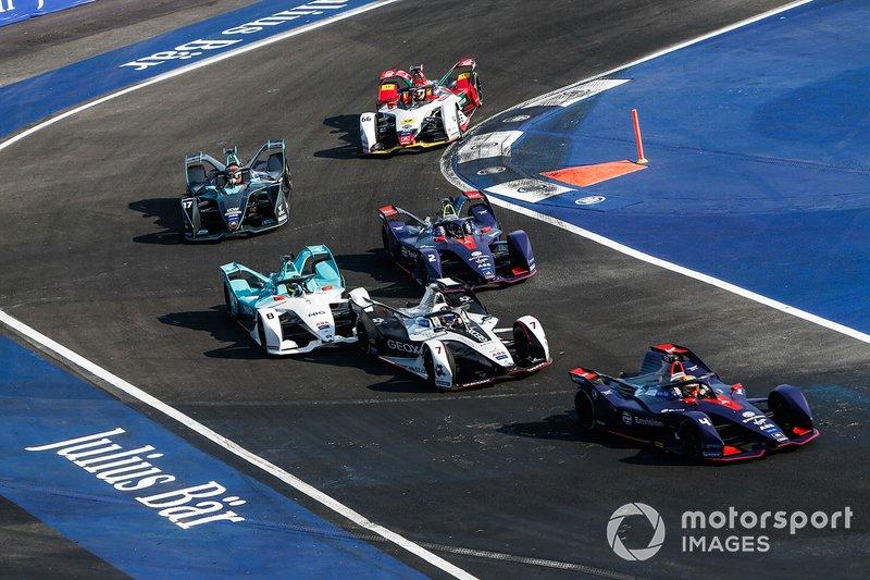 Robin Frijns, Envision Virgin Racing, Audi e-tron FE05 Jose Maria Lopez, Dragon Racing, Penske EV-3, Tom Dillmann, NIO Formula E Team, NIO Sport 004