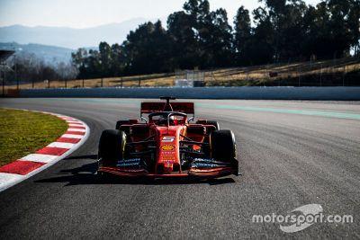 Ferrari shakedown