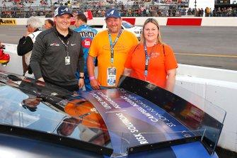 Martin Truex Jr., Joe Gibbs Racing, Toyota Camry Auto Owners Insurance guests