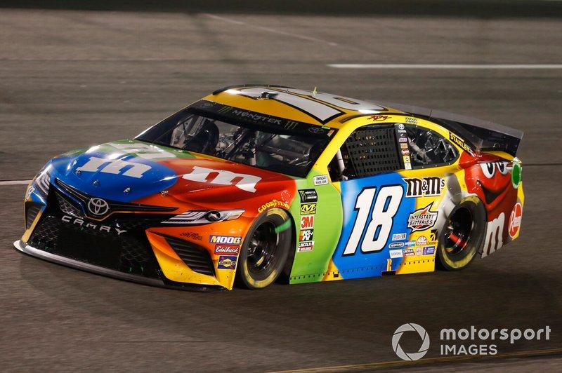 8. Kyle Busch, Joe Gibbs Racing, Toyota Camry