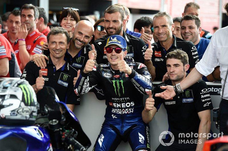Друге місце у кваліфікації Маверік Віньялес, Yamaha Factory Racing