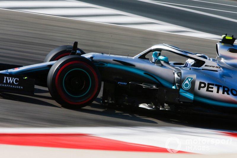 1. Валттері Боттас, Mercedes — 44