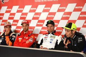 Marc Marquez, Andrea Dovizioso, Cal Crutchlow, Valentino Rossi