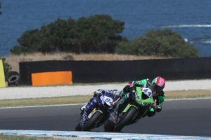 Lucas Mahias, Kawasaki Puccetti Racing, Australian WorldSSP race 2019