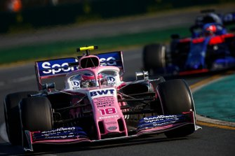 Лэнс Стролл, Racing Point RP19, Даниил Квят, Toro Rosso STR14