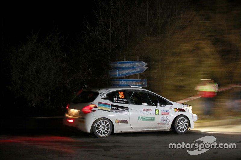 Alessandro Nerobutto, Michele Ferrara, Peugeot 208 R2 #39, Hawk Racing Club