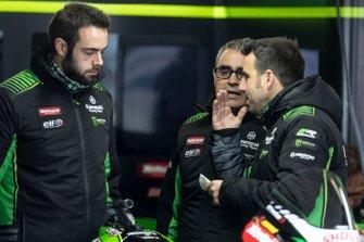 Pere Riba, e la crew di Jonathan Rea, Kawasaki Racing