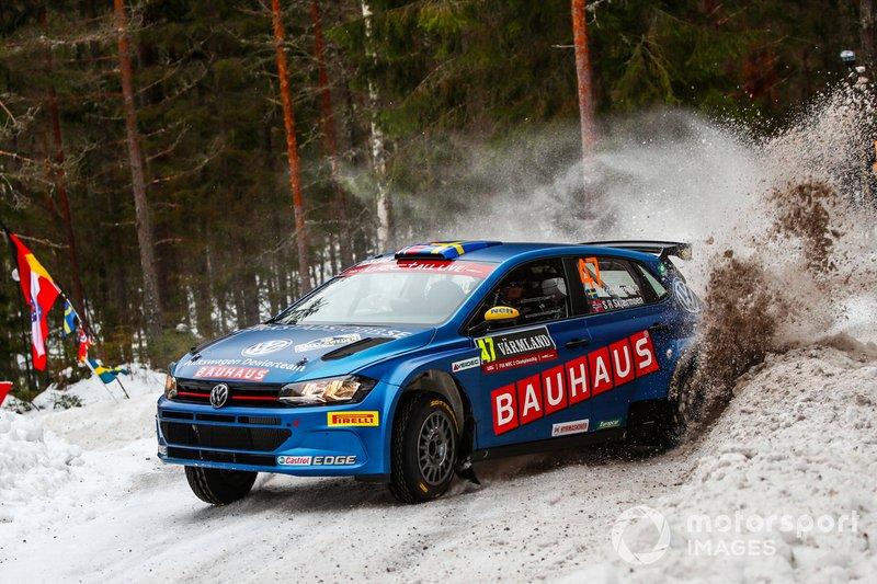 Johan Kristoffersson, Stig Rune Skjaermoen, VW Sweden Dealer Team, Volkswagen Golf GTi R5