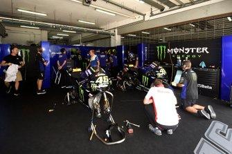 Yamaha Factory Racing garage