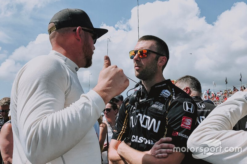 Will Anderson, Race engineer, Arrow Schmidt Peterson Motorsports