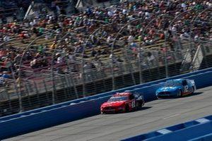 Daniel Suarez, Stewart-Haas Racing, Ford Mustang Haas Automation Ryan Blaney, Team Penske, Ford Mustang PPG