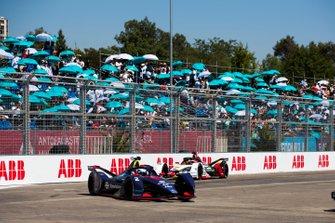 Sam Bird, Envision Virgin Racing, Audi e-tron FE05 Daniel Abt, Audi Sport ABT Schaeffler, Audi e-tron FE05