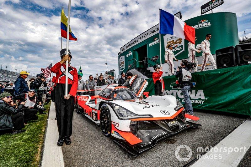 Автомобиль Acura ARX-05 (№6) команды Acura Team Penske