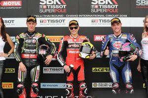 Jonathan Rea, Kawasaki Racing, Alvaro Bautista, Aruba.it Racing-Ducati Team, Alex Lowes, Pata Yamaha
