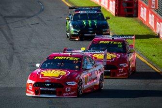 Scott McLaughlin, DJR Team Penske Ford, Fabian Coulthard, DJR Team Penske