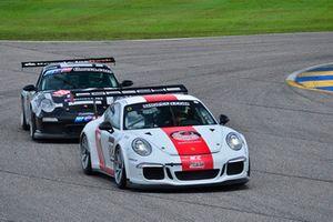 #88 MP1B Porsche GT3 Cup driven by Carlos Crespo of MCC Motorsports, #58 MP1B Porsche GT3 Cup driven by Paulo Lima & Pedro Redondo Sr. of TLM Racing