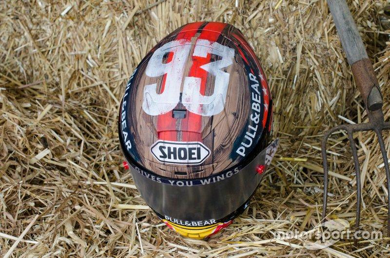Il casco speciale di Marc Marquez, Repsol Honda Team